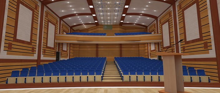 تجهیز سالن آمفی تئاتر